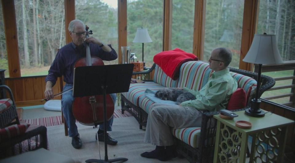 Stan Baker and Peter Harrigan in the 2015 documentary film THE STATE OF MARRIAGE, directed by Jeff Kaufman. 04GlobeDocs